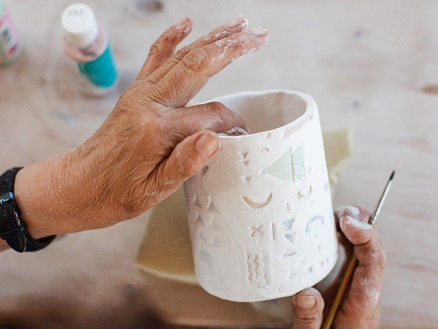 clase profesor cerámica