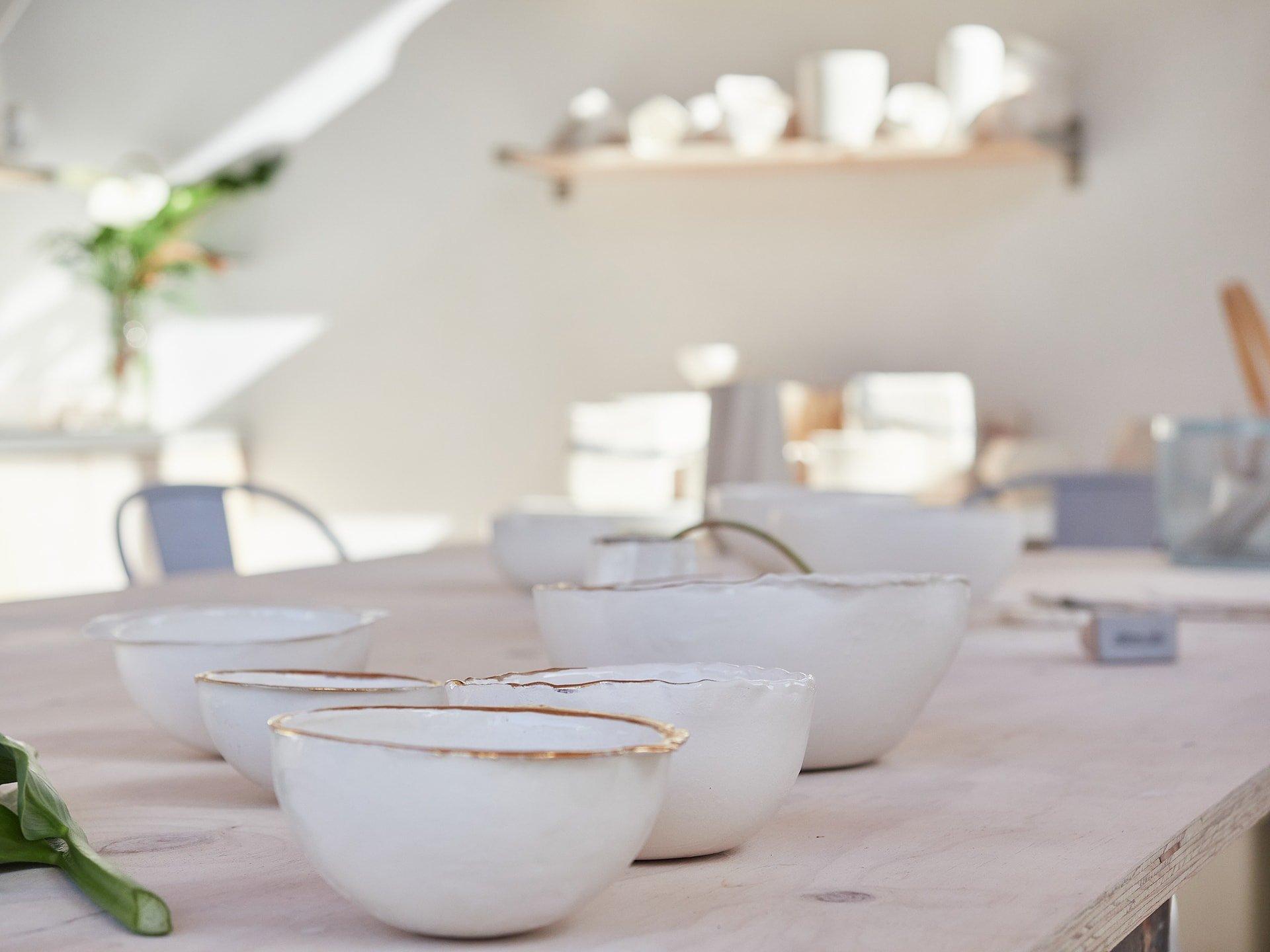 Cuencos de cerámica Woodic