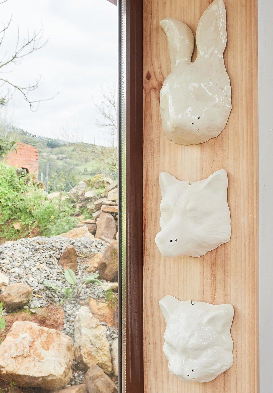 Máscaras de cerámica Woodic