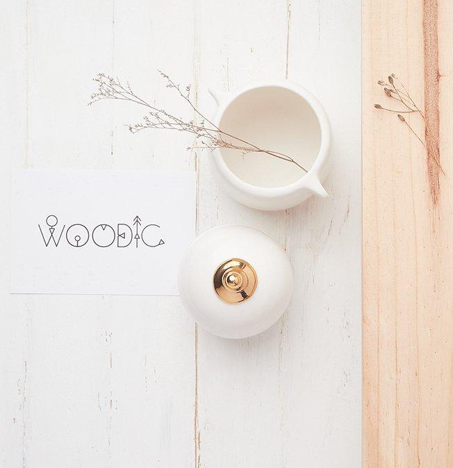Piezas cerámica Woodic