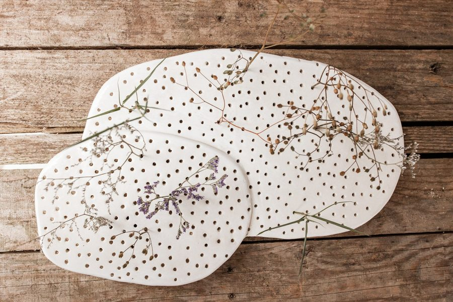 baseNIAL florero de cerámica