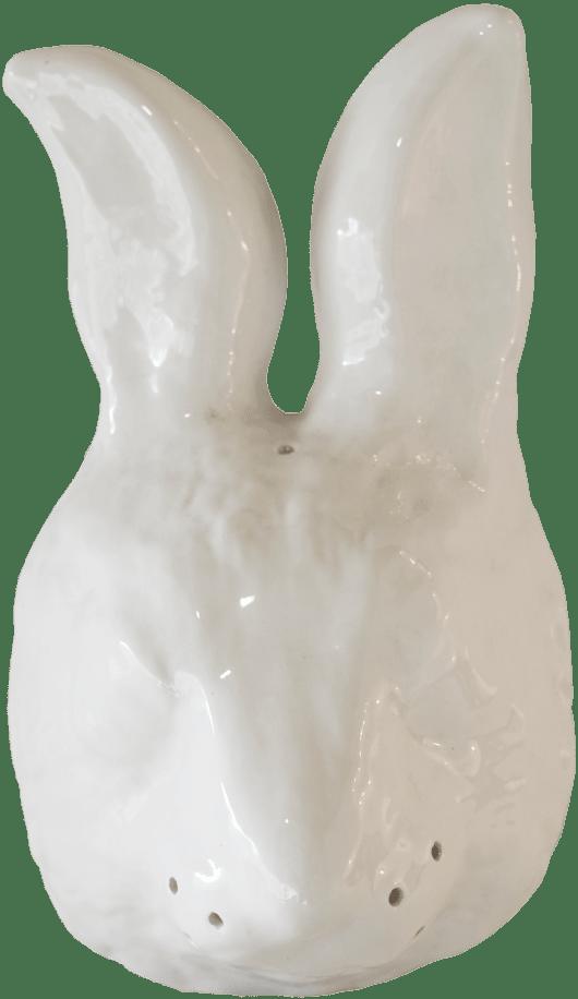 careta conejo ceramica